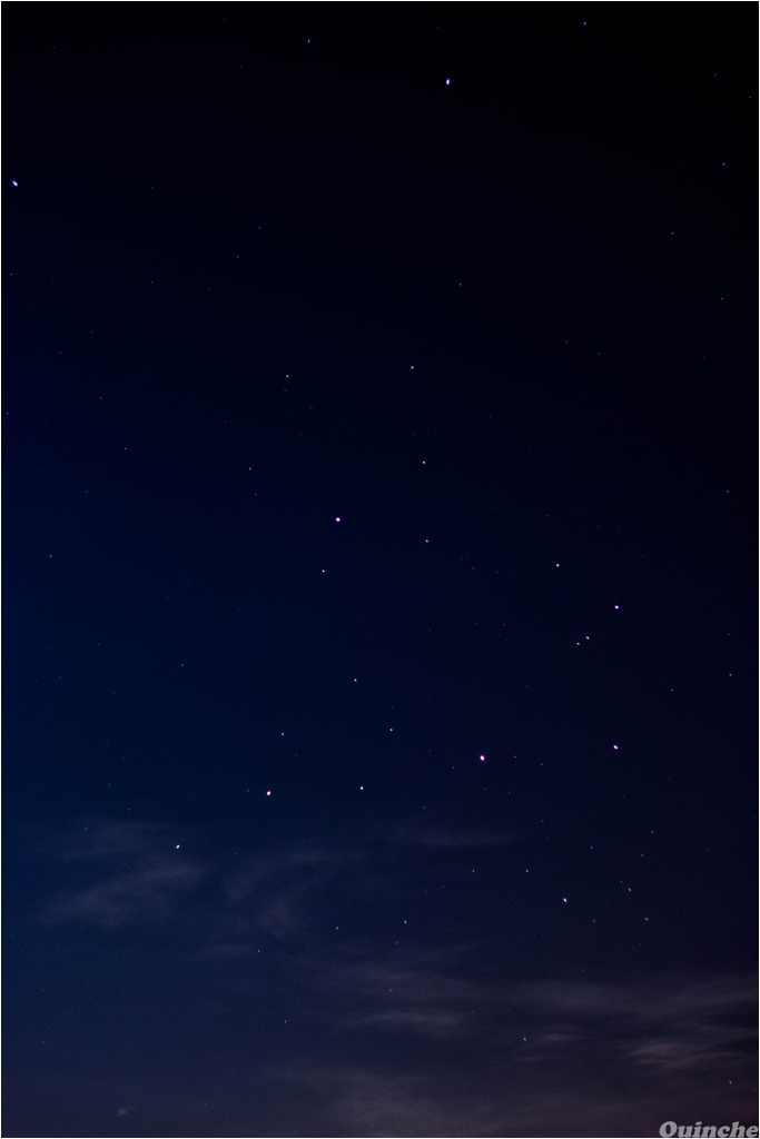 La lune, masquée, et la conjonction Saturne-Mars-Antarès