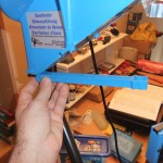 Photo 5 : On fixe le support du guide de douilles