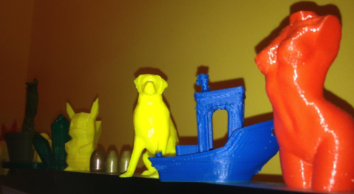 Les printeurs fous  : Ce mois ci, le petit bateau de chez 3DBenchy