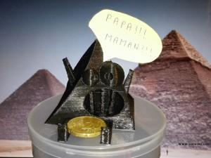 Challenge Mai 2015 : Aurélien : Papa, Maman et la Little Pyramid