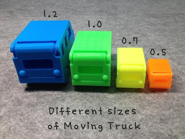 Plusieurs échelles possibles , plus c'est petit plus faut avoir une printeuse calibrée au petits oignions