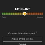Feedback Coach : Fatiguant