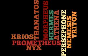 156 - ATHENA, HERMES, KRIOS, MORPHEUS, NEMESIS, NYX, PERSEPHONE, PROMETHEUS, THANATOS, TRITON sont la