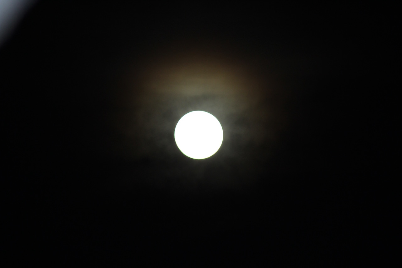 Photo de la pleine lune du 23 Janvier 2016 : FAIL