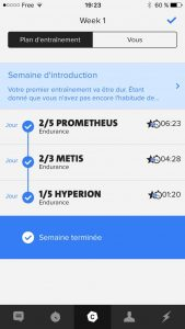 Coach Freeletics BodyWeight Semaine 1