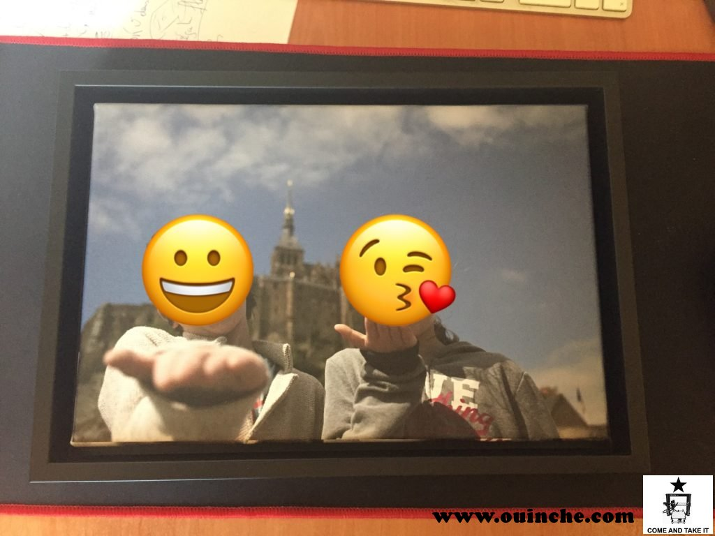 Photo imprimée sur toile par SAAL Digital : le resultat