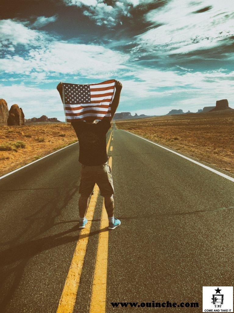 Ouinche, sur la route à Monument Valley, 15 Juillet 2018