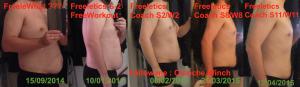 Évolution jusqu'à fin S11 - profil
